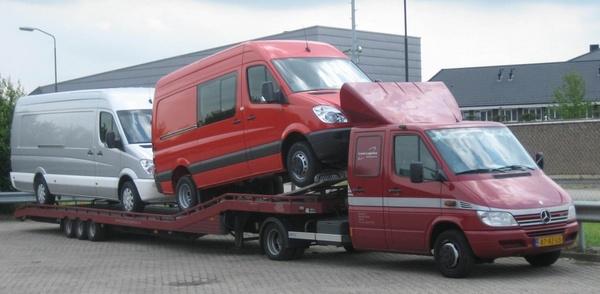 te huur oprijwagen autoambulance autotransport vakman